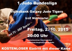 Volksbank Galaxy Judo Tigers vs. UJZ Mühlviertel