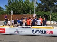 Tigers als Volunteers beim Wings for Life World Run